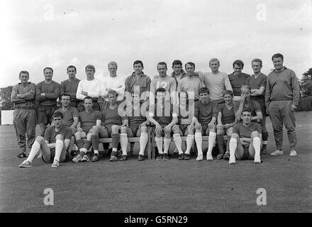 England's World Cup Squad 1966 - Stock Photo