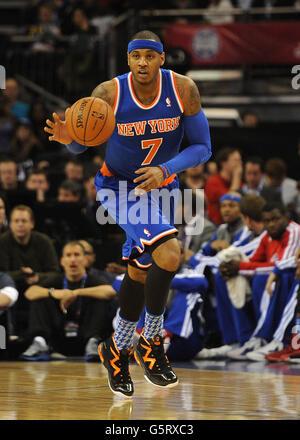 Basketball - 2013 NBA London Live - Detroit Pistons v New York Knicks - O2 Arena - Stock Photo