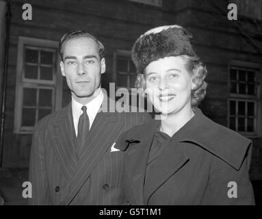 Royalty - Princess Margarita of Baden and Prince Tomislav of Yugoslavia - London