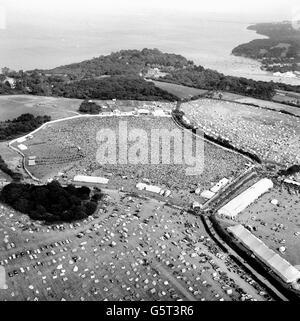 Music - Isle of Wight Festival - 1969 - Stock Photo