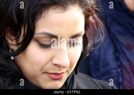 Aamir Siddiqi murder - Stock Photo