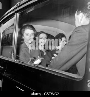 Profumo Affair - Christine Keeler - Marylebone Court, London - Stock Photo