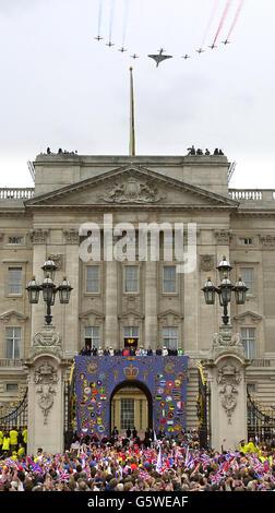 Royalty - Queen Elizabeth II Golden Jubilee - Stock Photo