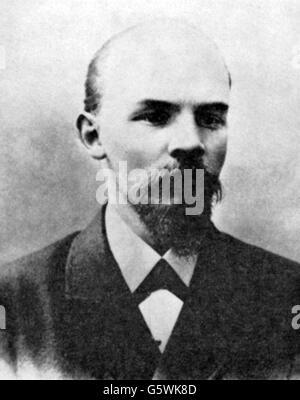Lenin (Vladimir Ilyich Ulyanov), 22.4.1870 - 21.1.1924, Russian politician, portrait, 1900, - Stock Photo