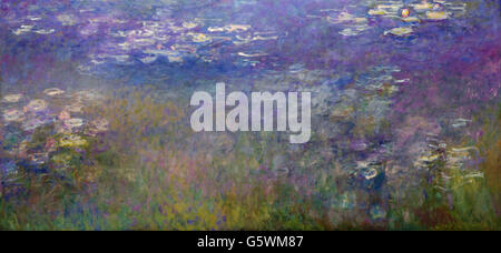 Claude Monet - Water Lilies - Stock Photo