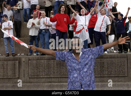 World Cup fans/Mohammed George - Stock Photo