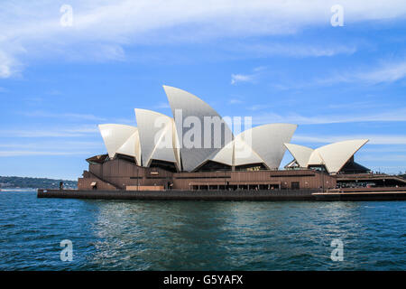 Nice view of Sydney Opera House - Stock Photo