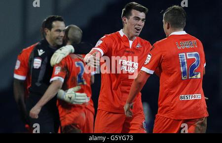 Soccer - FA Cup - Quarter Final Replay - Blackburn Rovers v Millwall - Ewood Park - Stock Photo