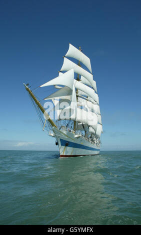 The Cutty Sark Tall Ships Race - Stock Photo