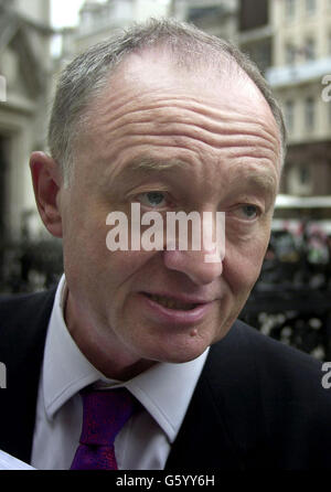 The Mayor Arrives at the High Court - Stock Photo