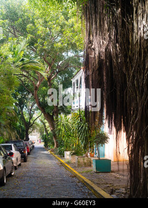 Caleta de San Juan, Old San Juan/Viejo San Juan - Stock Photo