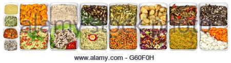 Lunch vegetarian buffet - Stock Photo