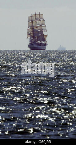 Pogoria Sailing Ship - Stock Photo