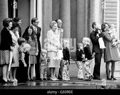 Dutch Royalty - Princess Beatrix - Stock Photo