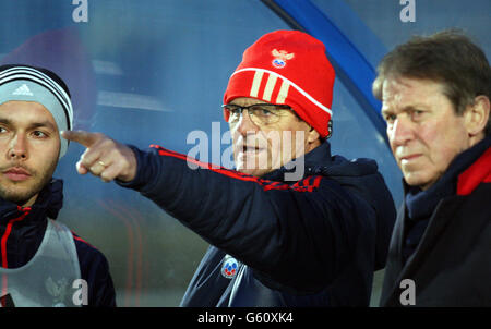 Soccer - FIFA World Cup 2014 Qualifying - Group F - Northern Ireland v Russia - Russia Training Session - Windsor - Stock Photo