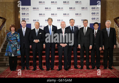 G8 Foreign Ministers meeting - Stock Photo