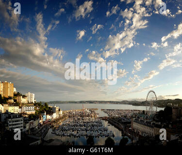 GB - DEVON: Torquay Harbour - Stock Photo