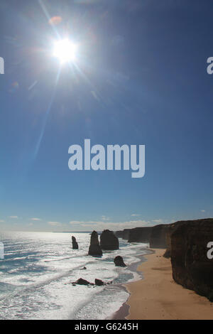 Twelve Apostles in Australia - Stock Photo