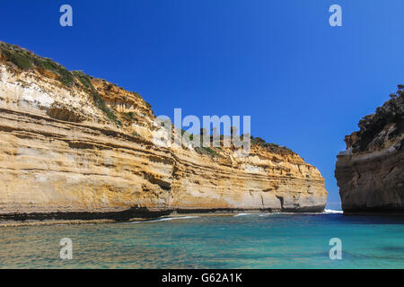 Loch Ard Gorge in Australia Great ocean road - Stock Photo