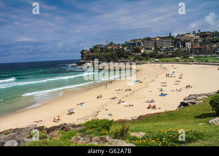 Bronte Beach in Sydney Australia - Stock Photo