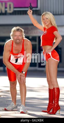 Sir Richard Branson - Virgin.net - Stock Photo