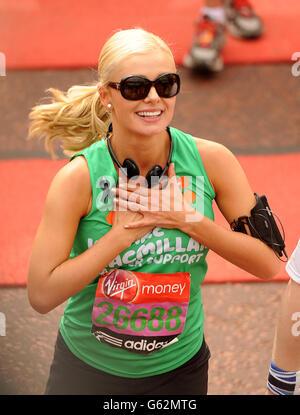Athletics - 2013 Virgin London Marathon - London - Stock Photo