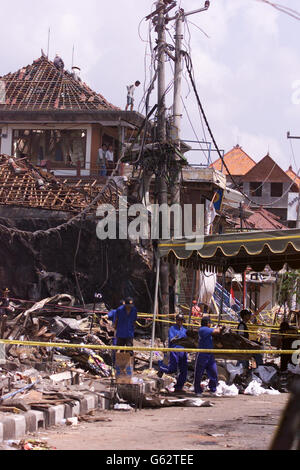 Bali bomb debris - Stock Photo