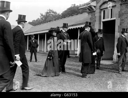 Lady Villiers and Lord Newry - Stock Photo