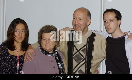 Low Family  Chechen Hostages - Stock Photo