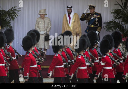 The State Visit of UAE President - Day One - Stock Photo