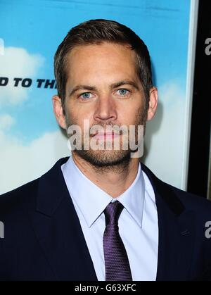 Fast and Furious 6 Premiere - London - Stock Photo