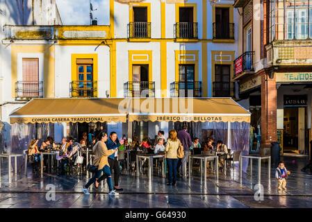 Spain Square. Mérida, Badajoz, Extremadura, Spain, Europe - Stock Photo