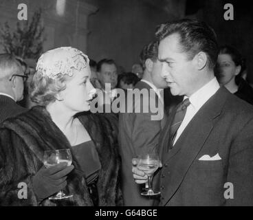 Film reception - Dambusters star Richard Todd - Royal Air Force Association HQ - Portland Place, London - Stock Photo