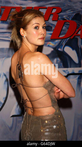 Rosamund Pike Die Another Day - Stock Photo