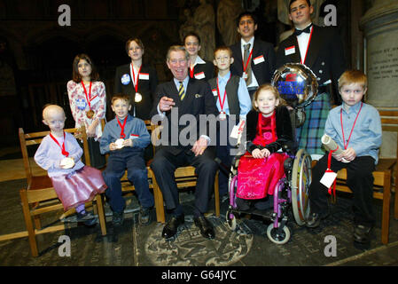 Prince Charles - Courage Children - Stock Photo