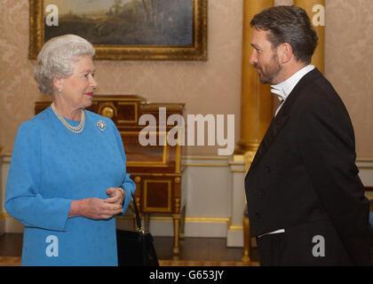 The Queen Receives  Mr Josip Paro - Stock Photo