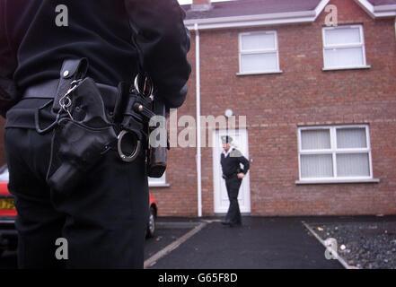 Shooting in Portadown - Stock Photo
