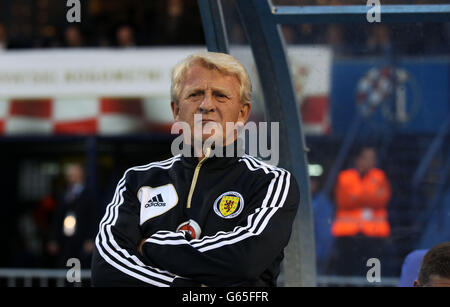 Soccer - FIFA World Cup Qualifying - Group A - Croatia v Scotland - Stadion Maksimir - Stock Photo