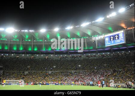Soccer - International Friendly - Brazil v England - Maracana Stadium - Stock Photo
