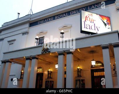 Theatre Royal Drury Lane - Stock Photo