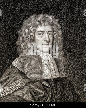 Anthony Ashley Cooper, 1st Earl of Shaftesbury, 1621-1683, an English politician - Stock Photo