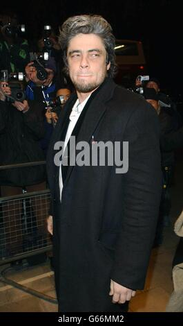 Empire Awards Del Toro - Stock Photo