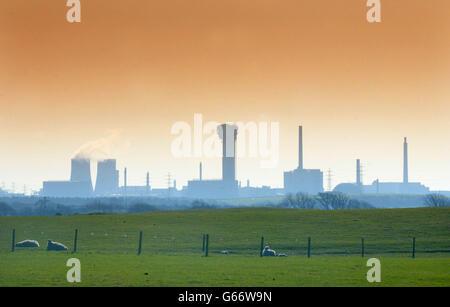 BNFL Sellafield Plant - Stock Photo