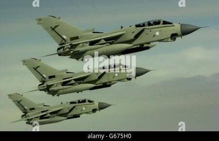 RAF - TORNADO AIRCRAFT - Stock Photo
