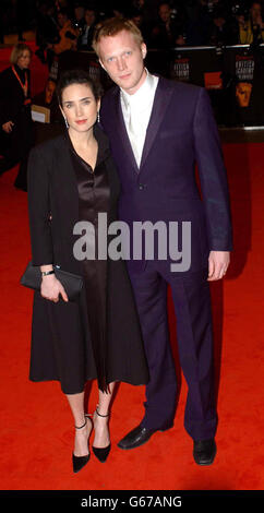 ORANGE BAFTAS Bettany and Connelly - Stock Photo
