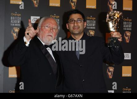 ORANGE BAFTAS Attenborough & Kapadia - Stock Photo