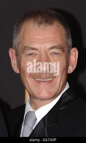 ORANGE BAFTAS Sir Ian McKellen - Stock Photo