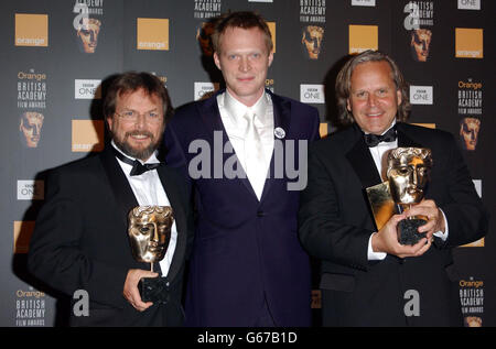 ORANGE BAFTAS Rygiel & Cook - Stock Photo