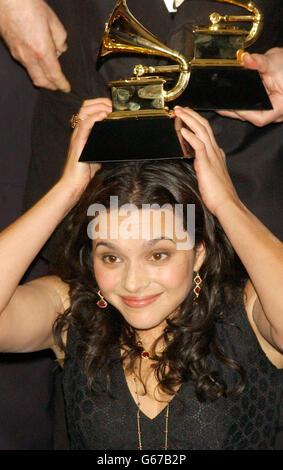 Norah Jones -  Grammy Awards - Stock Photo