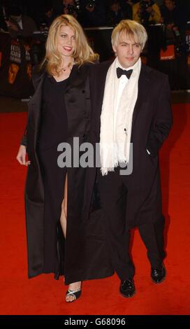 ORANGE BAFTAS Nick Rhodes - Stock Photo